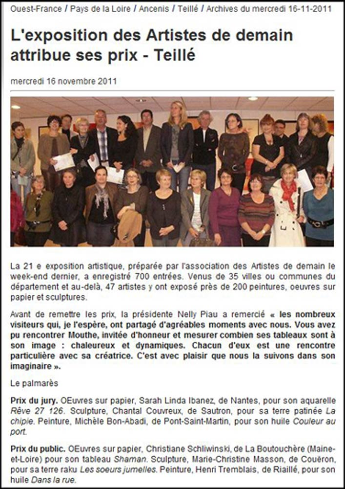 article-ouest-france-16-novembe-2011