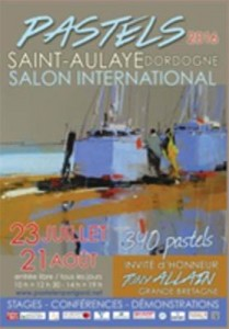 SALON INTERNATIONAL DE PASTEL A ST AULAYE