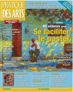 PUBLICATION DANS PRATIQUE DES ARTS – HORS SERIE SPECIAL PASTEL