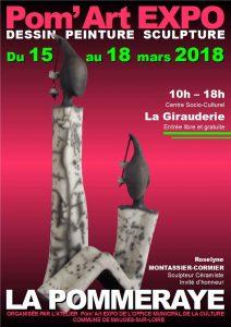 EXPOSITION POM'ART LA POMMERAYE