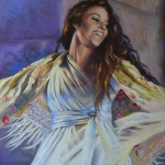 melodie-tsigane-pastel-peinture-danseuse