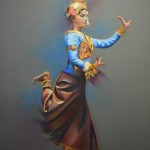 danseuse-cambodgienne-pastel-christiane-schliwinski