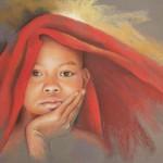 enfant-tibetain-pastel-christiane-schliwinski
