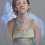 Dans-le-vent-peinture-pastel-portrait