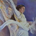 Melodie-soufie-pastel-peinture-danseuse-christiane-schliwinski