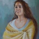 peinture-femme-chale-danseuse-portrait-pastel