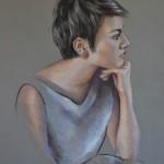 jeune-femme-profil-pastel-christiane-schliwinski-art-peinture-dessin