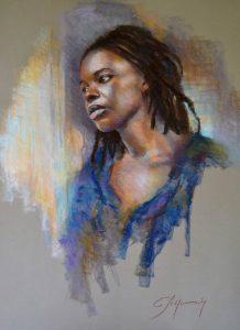 pastel-peinture-femme-portrait-christiane-schliwinski
