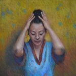 peinture-pastel-figure-kimono-japonaise-impressionnisme