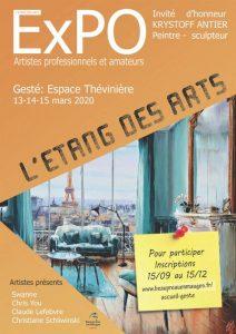 EXPOSITION L'ÉTANG DES ARTS A GESTE